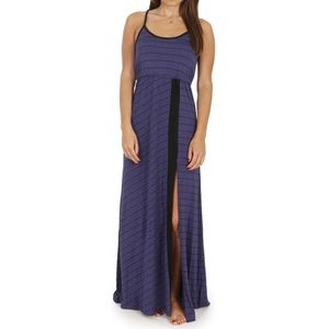 {3/$25} volcom • striped maxi dress
